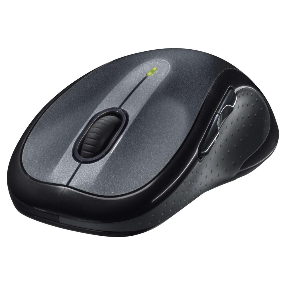 Mouse Logitech M510 Sem Fio Tecnologia Unifying Preto 1000DPI - 910-001822