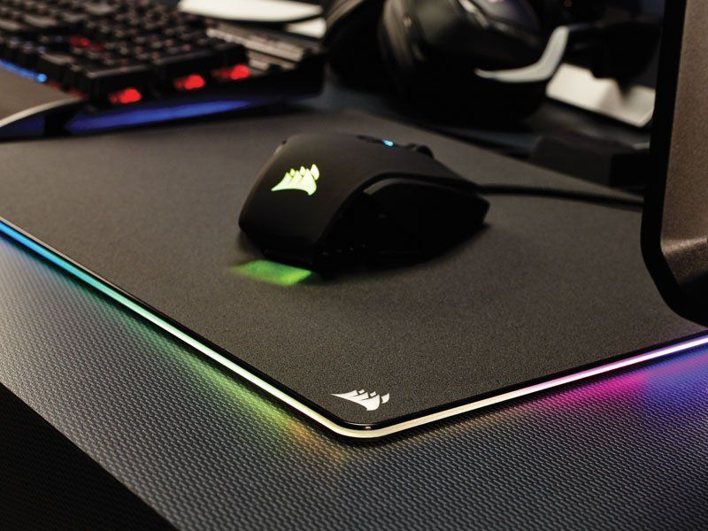 Mouse Pad Gamer Corsair Mm800 35X 26Cm Rgb CH-94400220-NA