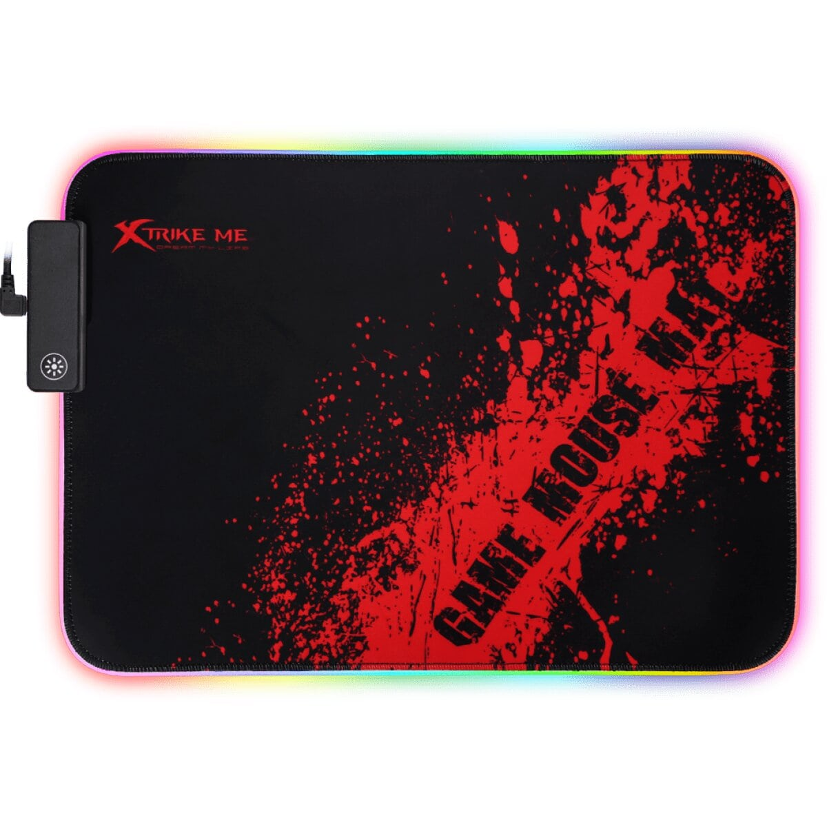 Mouse Pad Gamer Xtrike-Me, RGB - MP-602