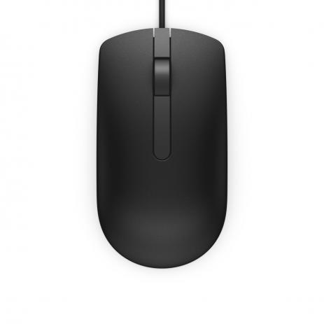 Mouse Usb Dell MS116 Preto
