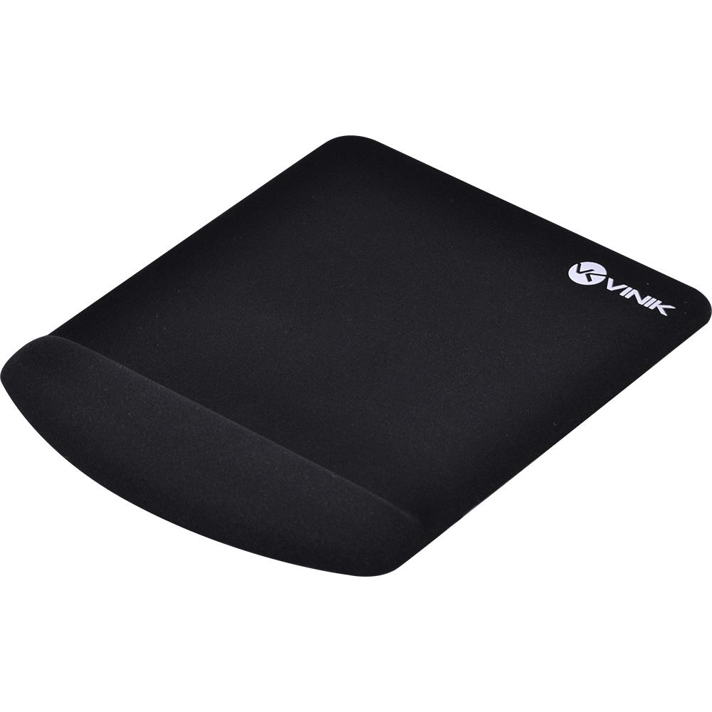 MousePad Vinik com apoio de Pulso em Gel, Preto - MPG-02P
