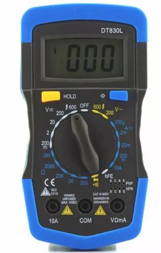 Multimetro Dig.C/Sup. Iluminação Lcd-3 ML-04 - MD-180L