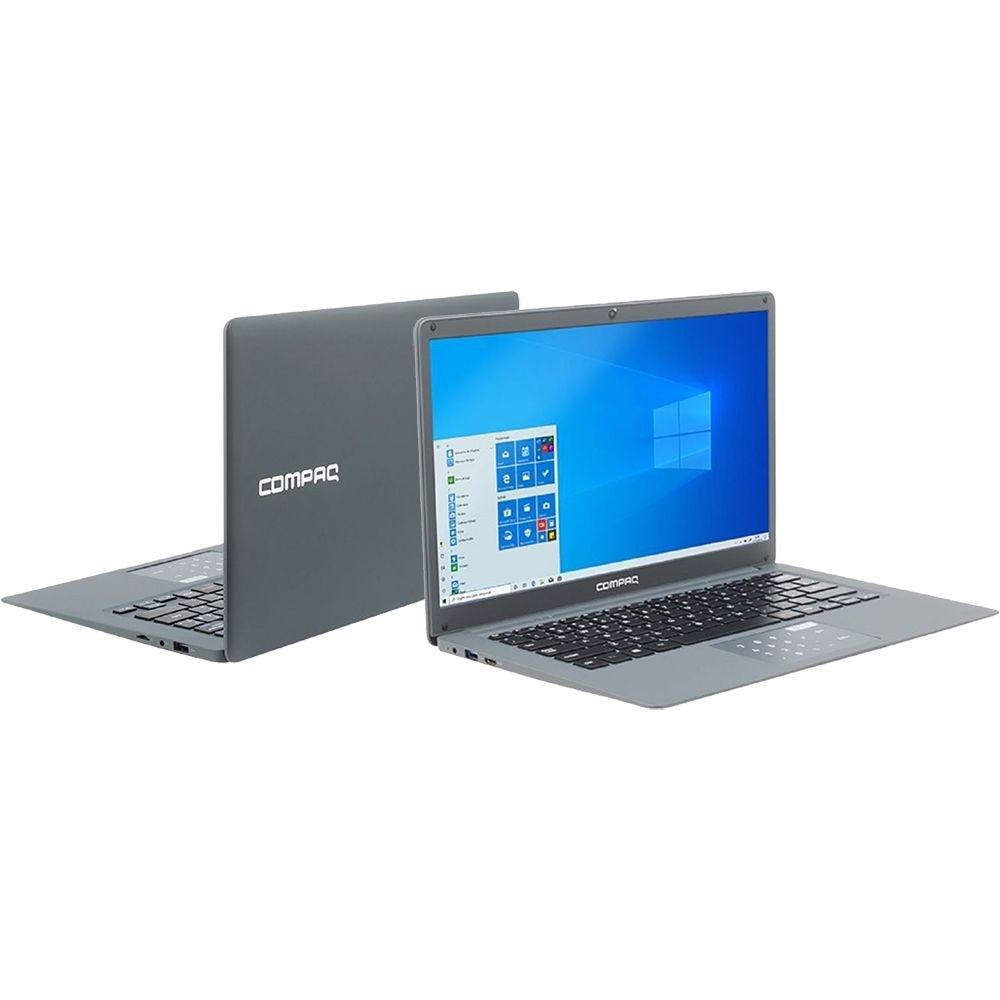 Notebook Compaq Presario CQ-25 Intel Pentium 4GB 120GB SSD 14'' Windows 10 - Cinza
