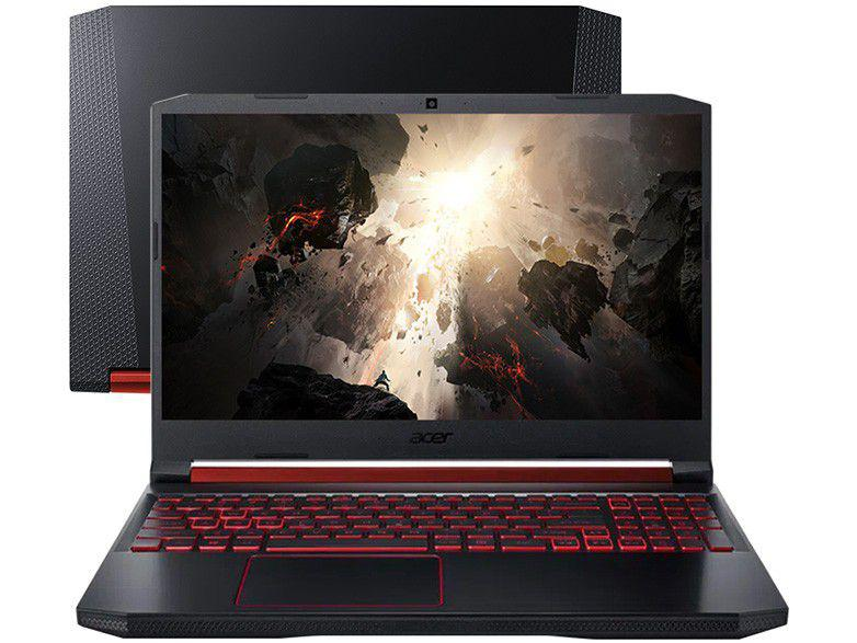 "Notebook Gamer Acer Aspire Nitro 5, AMD Ryzen 5, 8GB ,1TB, 256GB SSD, Placa de Vídeo NVIDIA GeForce GTX 1650 4GB, Tela 15,6"" - AN515-43-R9K7"
