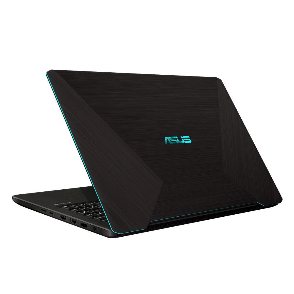 "Notebook Gamer Asus AMD Ryzen 5 3500U, 8GB, 1TB, NVIDIA GTX1050 4GB, Windows 10, 15.6"", Preto/Azul - M570DD-DM122T"