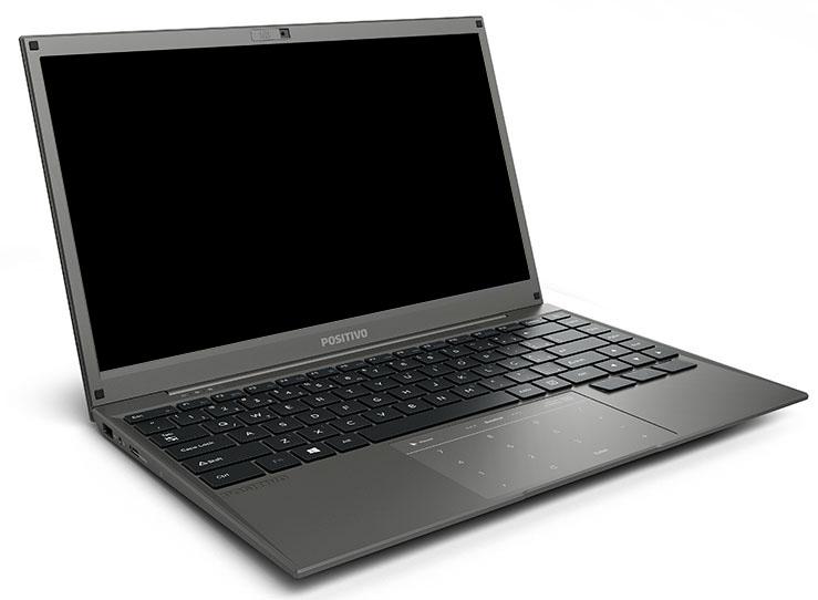 """Notebook Positivo Master N2140 I3-7020u, 4GB, HD 500GB, 14"""", Linux - 3052720"""