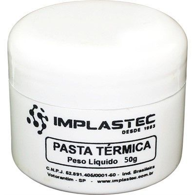 Pasta Térmica Thermal Silver 50g Implastec