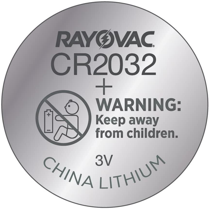 Pilha Eletrônica Rayovac Botão CR2032 (Unidade)