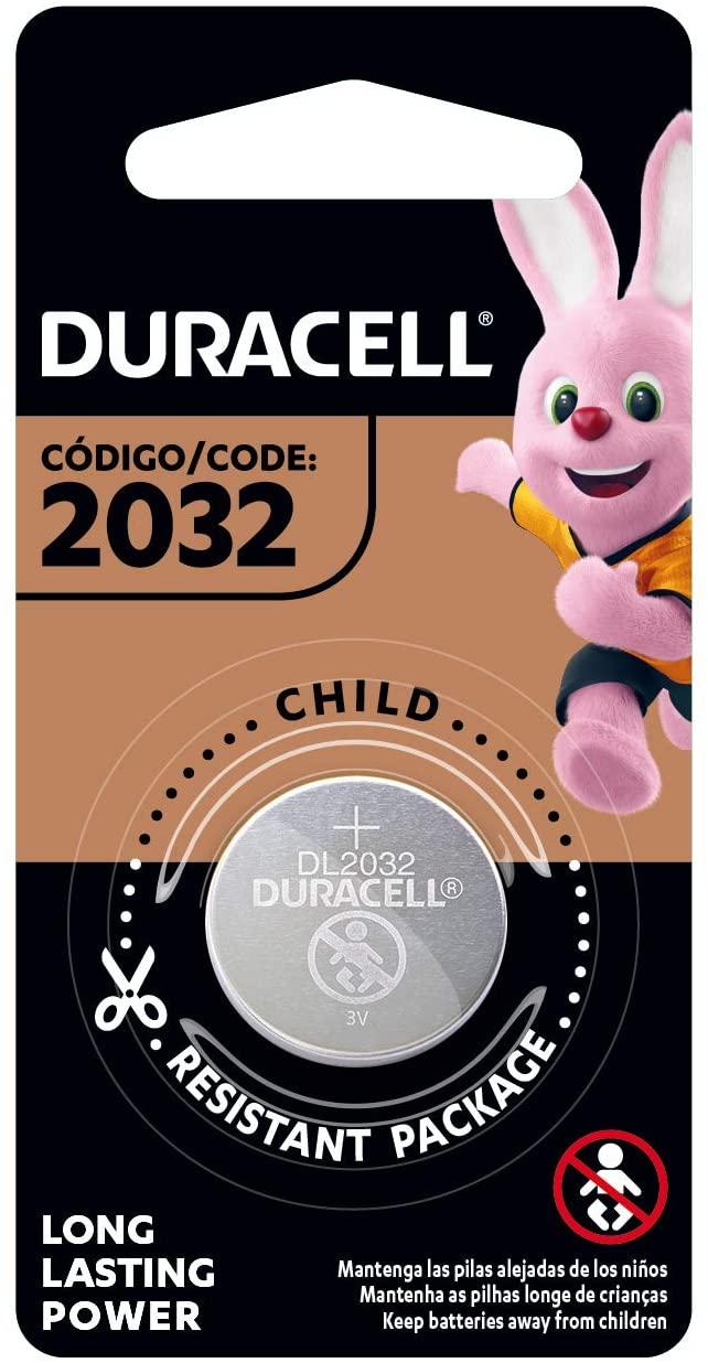Pilha Moeda Duracell CR 2032- DL2032B