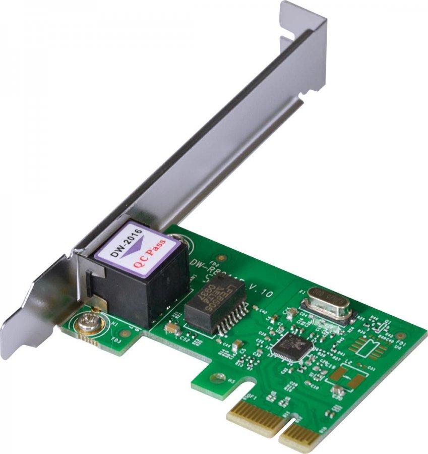 Placa de Rede 10/100/1000 PCI-E PRV1000E com suporte Low Profile, Vinik - 26261