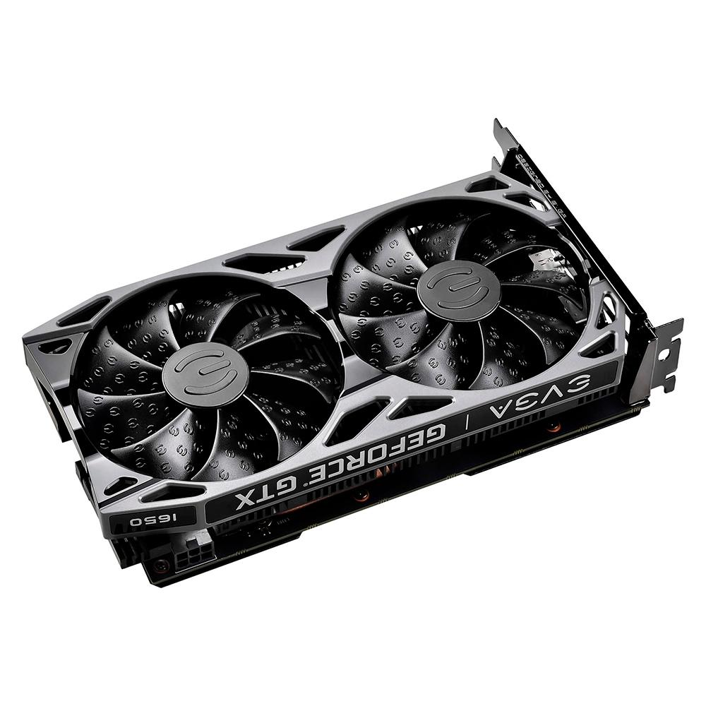 Placa de Vídeo EVGA NVIDIA GeForce GTX 1650 SC Ultra GDDR6 Gaming, 4GB, GDDR6 - 4G-P4-1257-KR