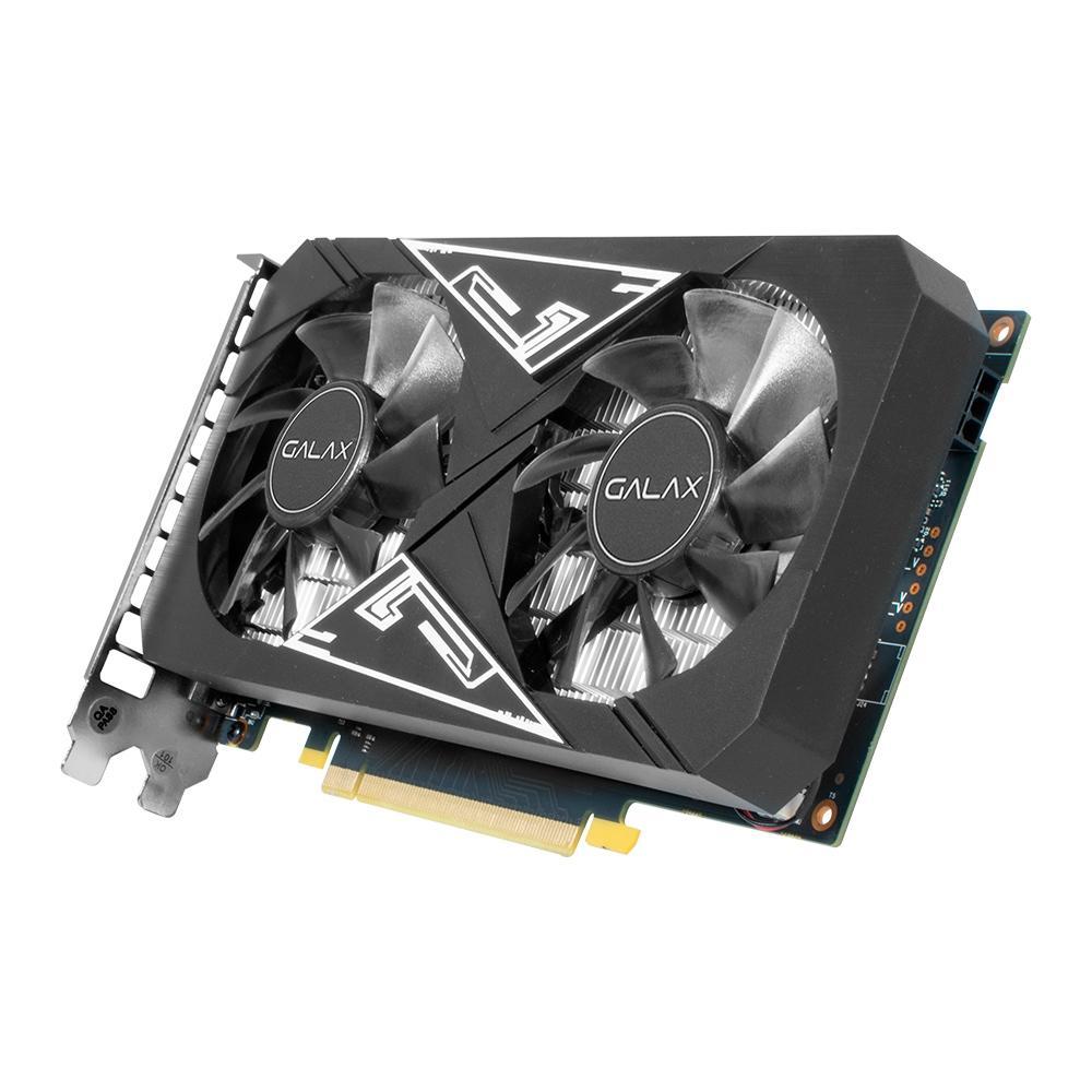 Placa de Vídeo Galax NVIDIA GeForce GTX 1650 EX Plus (1-Click OC), 4GB, GDDR6 - 65SQL8DS93E1