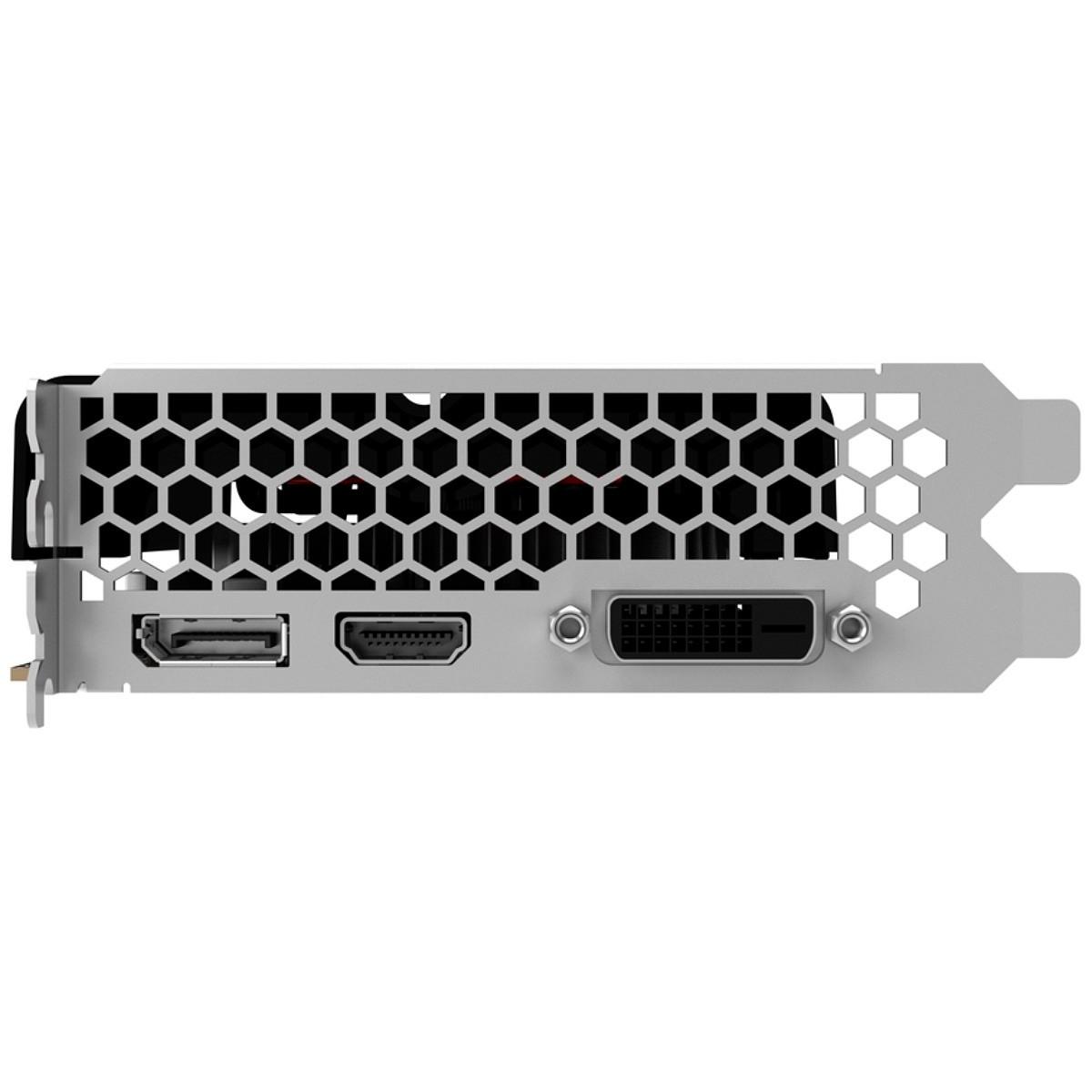 Placa de Vídeo GeForce GTX 1050 Ti 4GB GDDR5 128bits, Gainward - NE5105T018G1-1070F