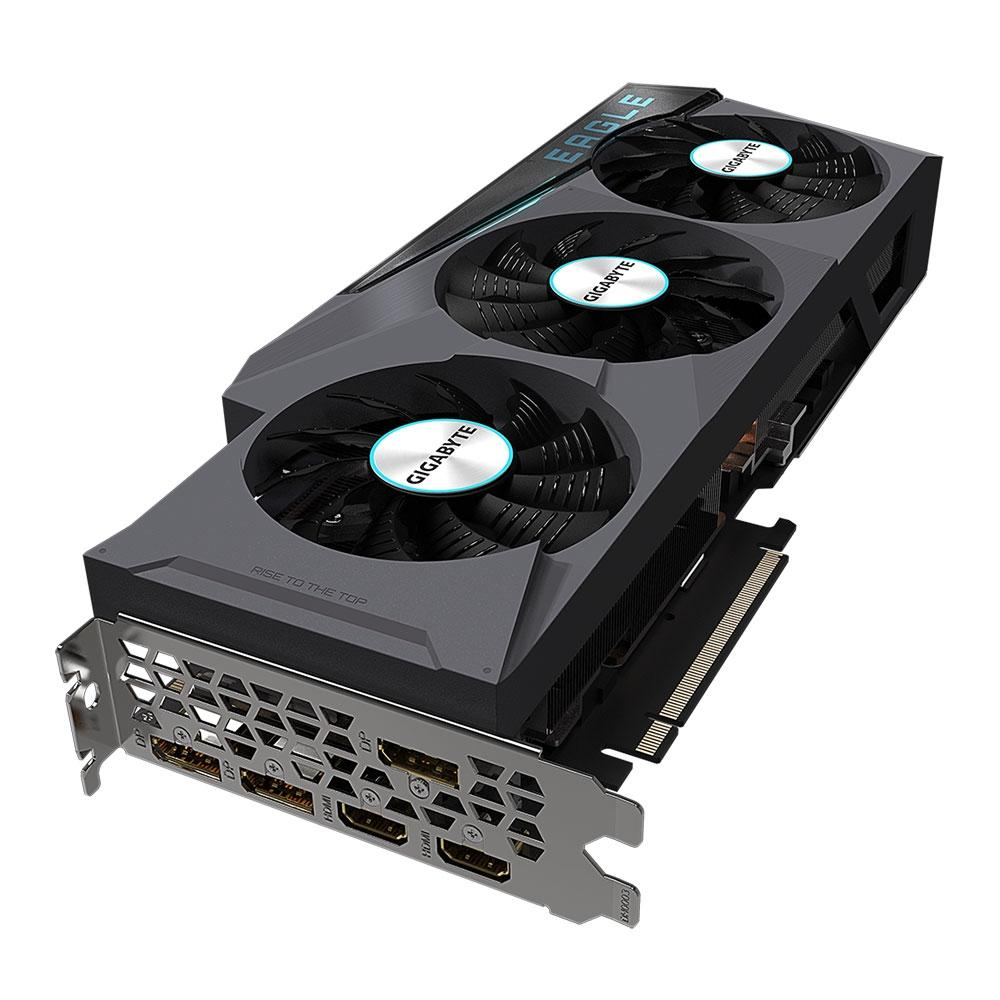 Placa de Vídeo Gigabyte NVIDIA GeForce RTX 3080 Ti Eeagle, RGB, 12G GDDR6X, 19000MHz, DLSS, Ray Tracing - GV-N308TEAGLE-12GD