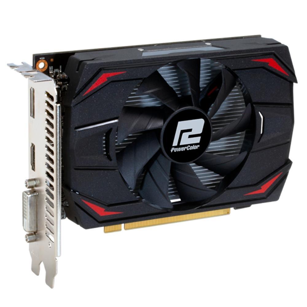 Placa de Vídeo PowerColor AMD Radeon RX 550, 4GB, DDR5 - AXRX 550 4GBD5-DH