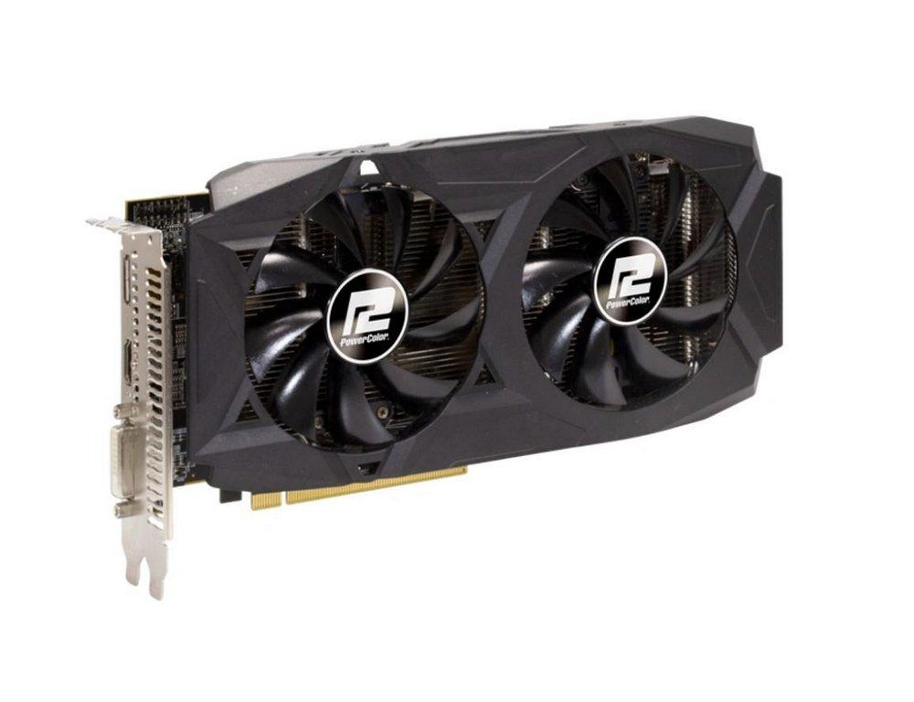 Placa De Vídeo PowerColor Radeon AXRX 580, DDR5, 8GB, 256 Bits - 8GBD5-DHDV2/OC