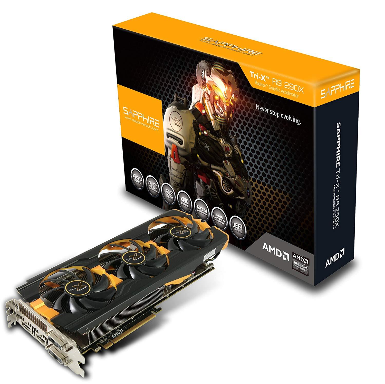 Placa De Video VGA Sapphire Radeon R9 290X, 4Gb, Tri-X OC, GDDR5, 512Bits - 299-1E285-200SA