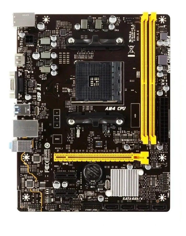 Placa Mãe AMD Biostar A320MH, AM4, DDR4, Ryzen 3ª Geração