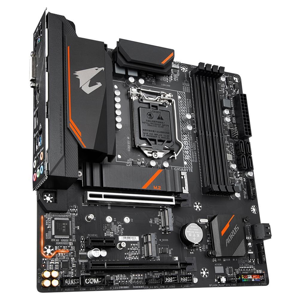Placa Mãe Aorus B460M Aorus Pro, Intel LGA 1200, mATX, DDR4