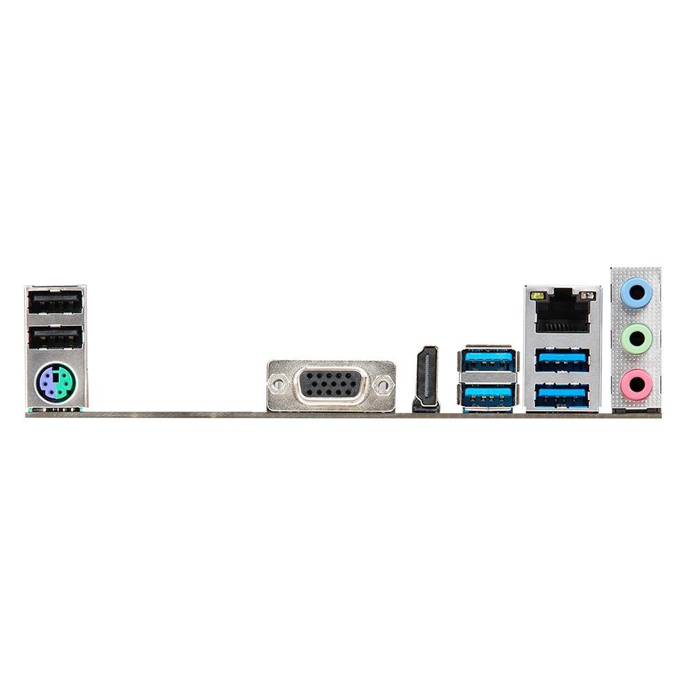 Placa Mãe ASRock A320M-HD R4, AMD AM4, Micro ATX, DDR4 - 90-MXBED0-A0BAYZ