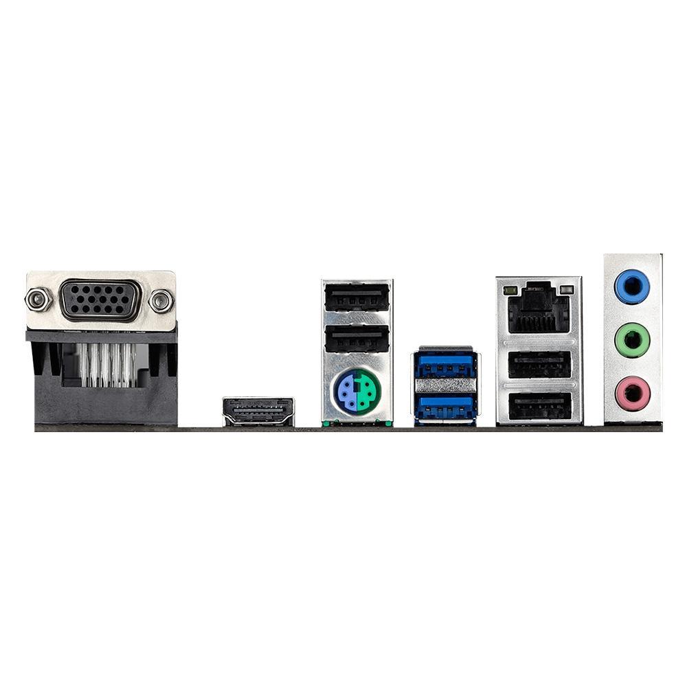 Placa Mãe ASRock H410M-HVS, Intel LGA 1200, Micro ATX, DDR4 - 90-MXBDC0-A0UAYZ