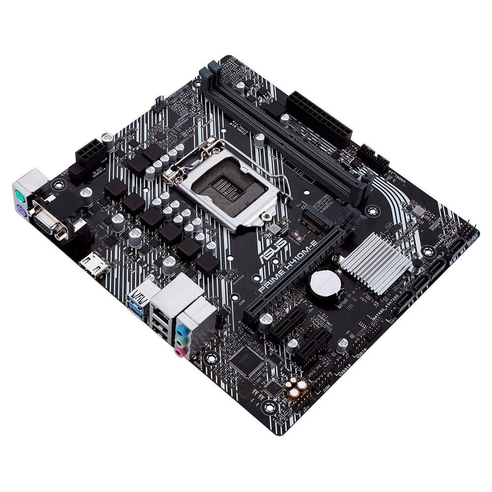 Placa Mãe Asus Prime H410M-E, Intel LGA 1200, mATX, DDR4 - 90MB13H0-C1BAY0