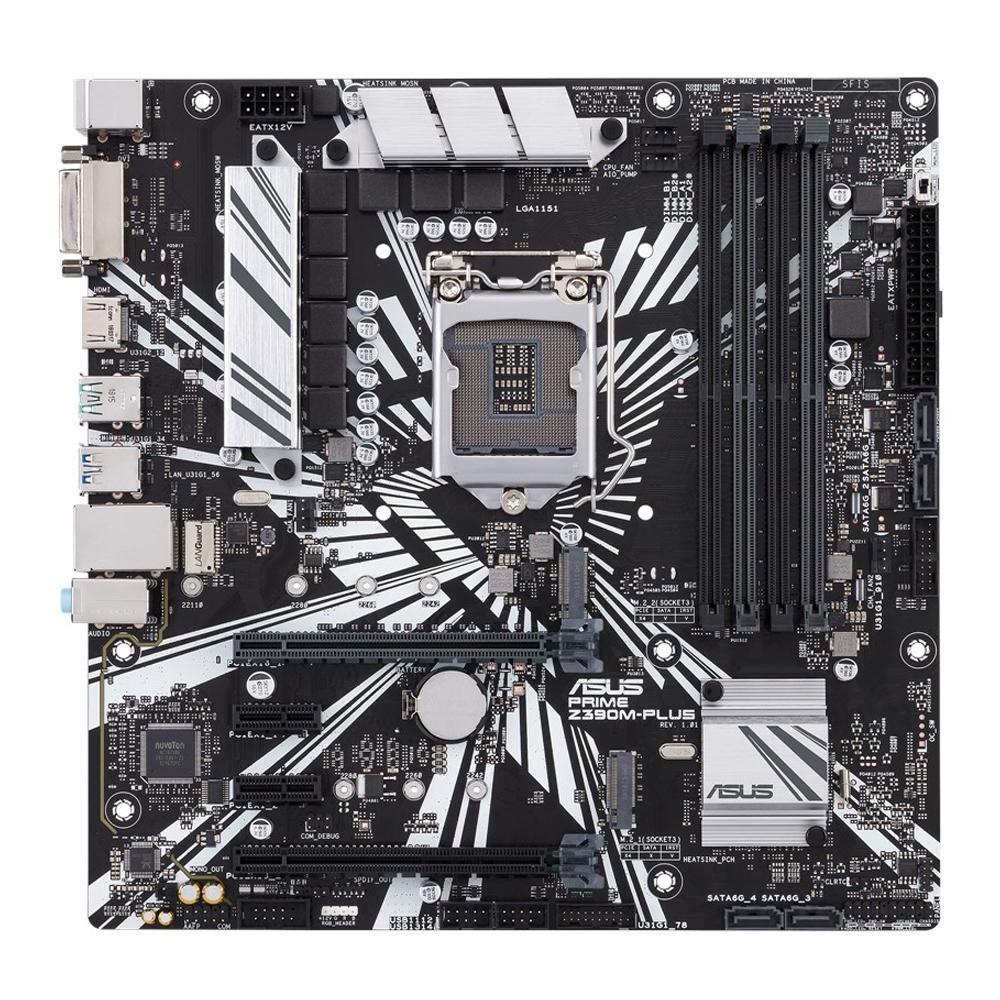 Placa Mãe Asus Prime Z390M-Plus, Intel LGA 1151, mATX, DDR4
