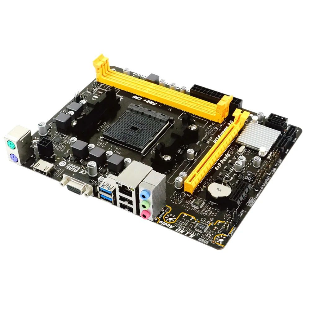 Placa Mãe Biostar A68MHE, Socket FM2+, uATX, DDR3