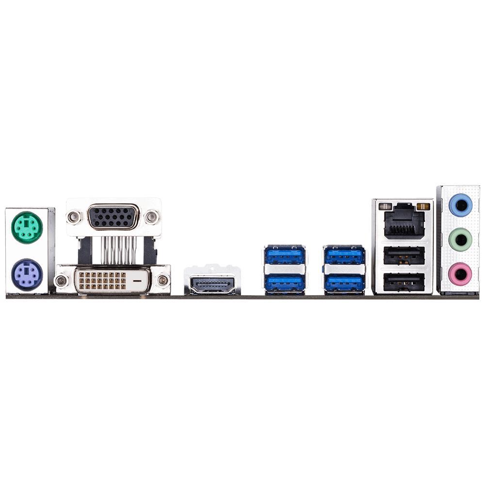 Placa Mãe Gigabyte B450M S2H, AM4, mATX, DDR4