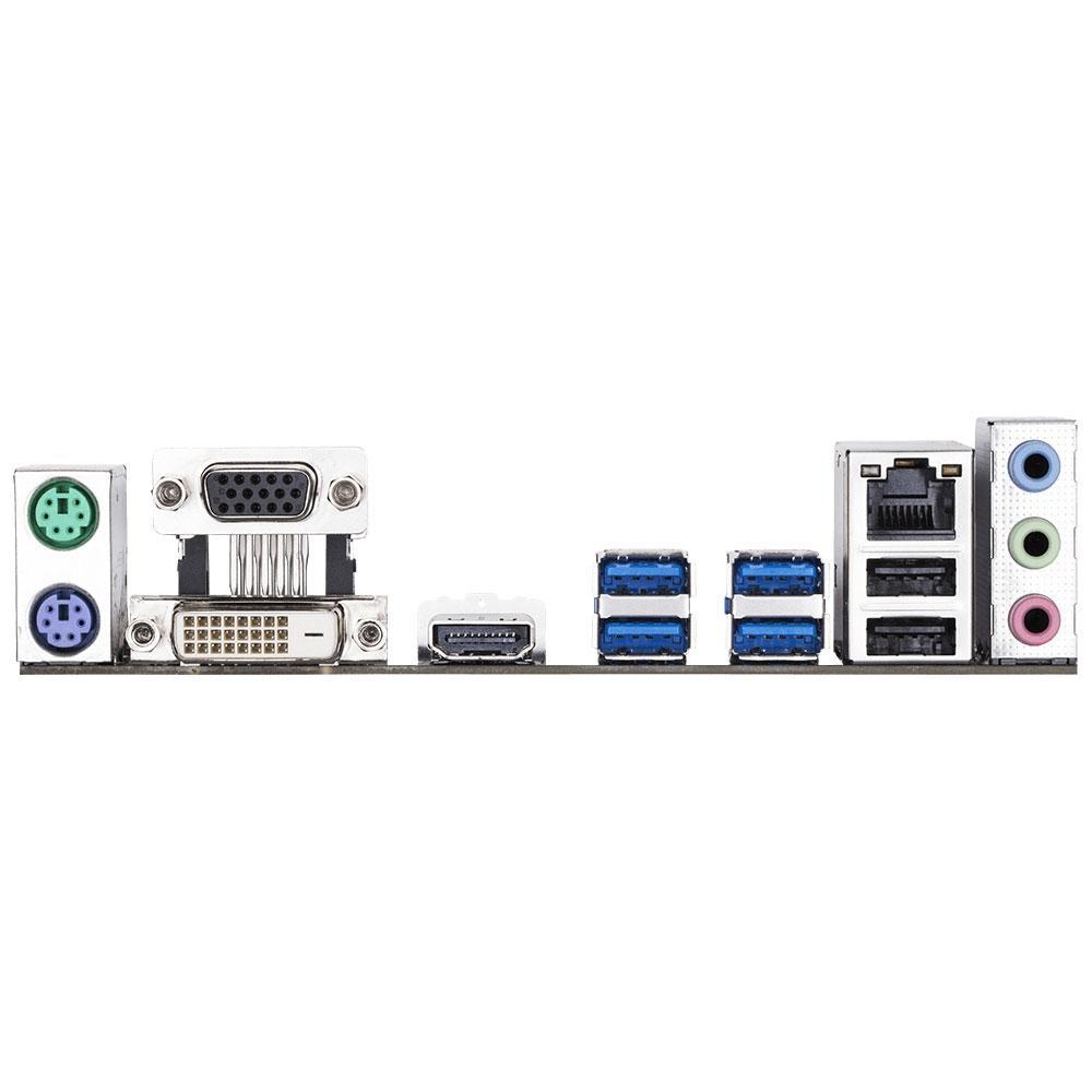 Placa Mãe Gigabyte GA-A320M-S2H, AMD AM4, mATX, DDR4