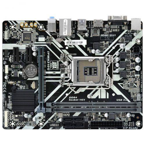 Placa Mãe PCWare IPMH310G, LGA 1151, mATX, DDR4, 8ª e 9ª geração