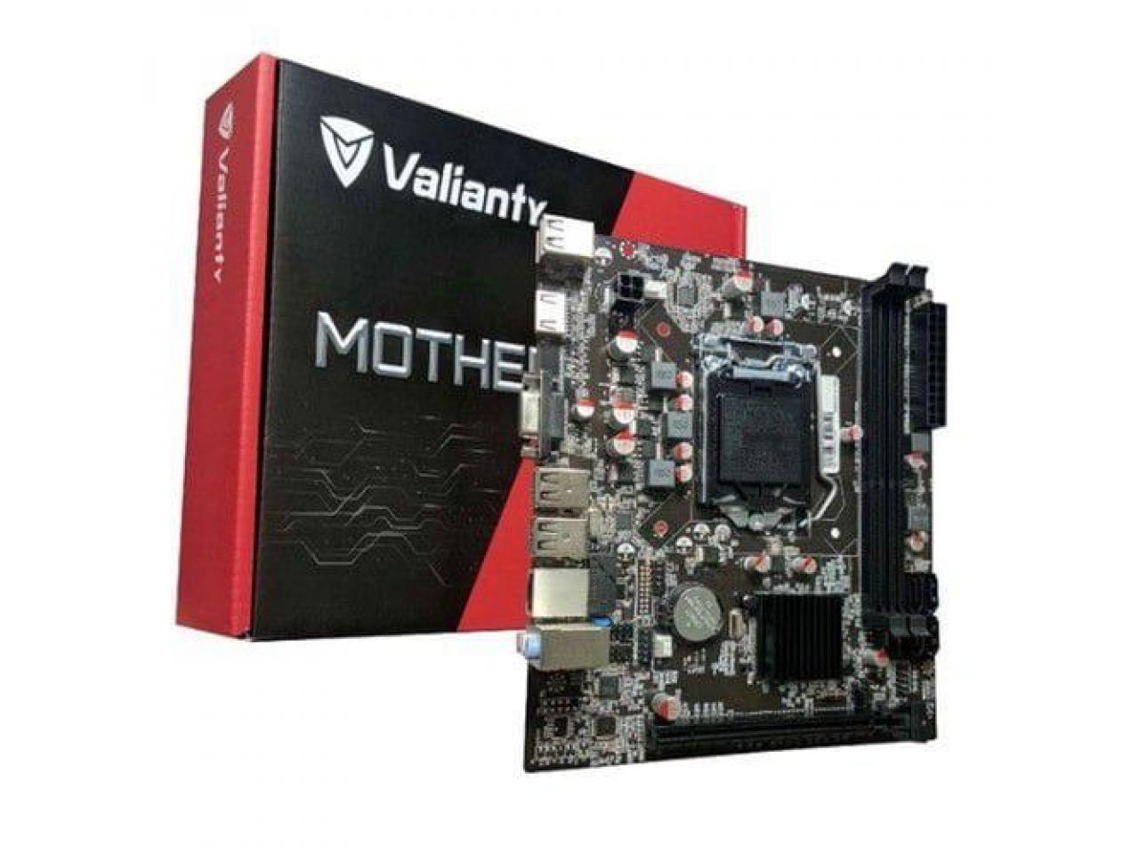Placa Mãe Valianty, Chipset H81, Intel LGA 1150, mATX, DDR3 - IH81-MA6