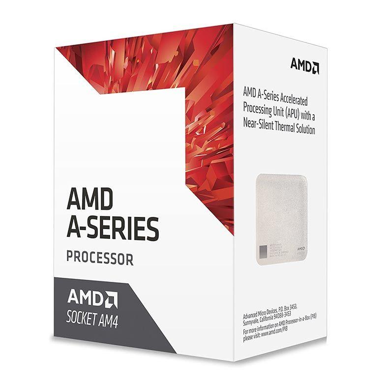 Processador AMD A12-9800 Quad-Core 3.8Ghz (4.2Ghz Turbo) 2MB Cache AM4 - AD9800AUABBOX
