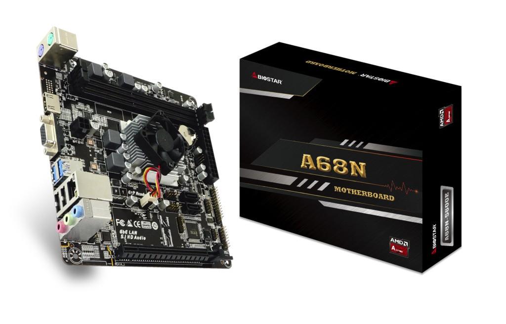 Processador AMD Quad Core + Placa Mãe Biostar A68N-5600E