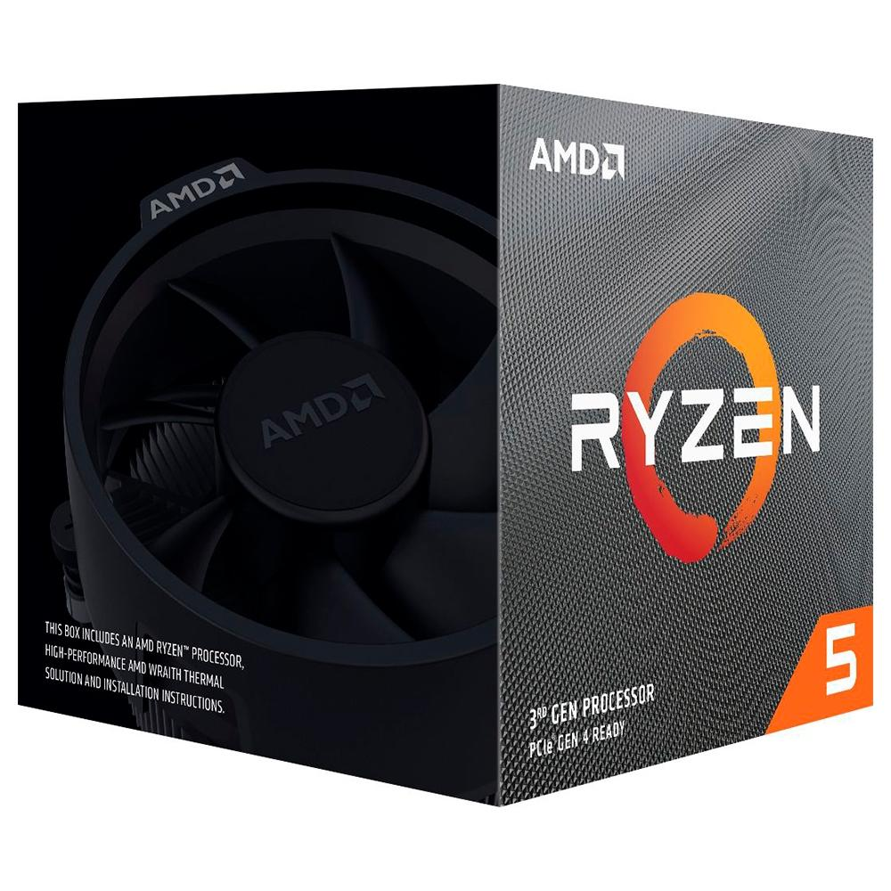 Processador AMD Ryzen 5 3600XT, Cache 35MB, 3.8GHz (4.5GHz Max Turbo), AM4 - 100-100000281BOX