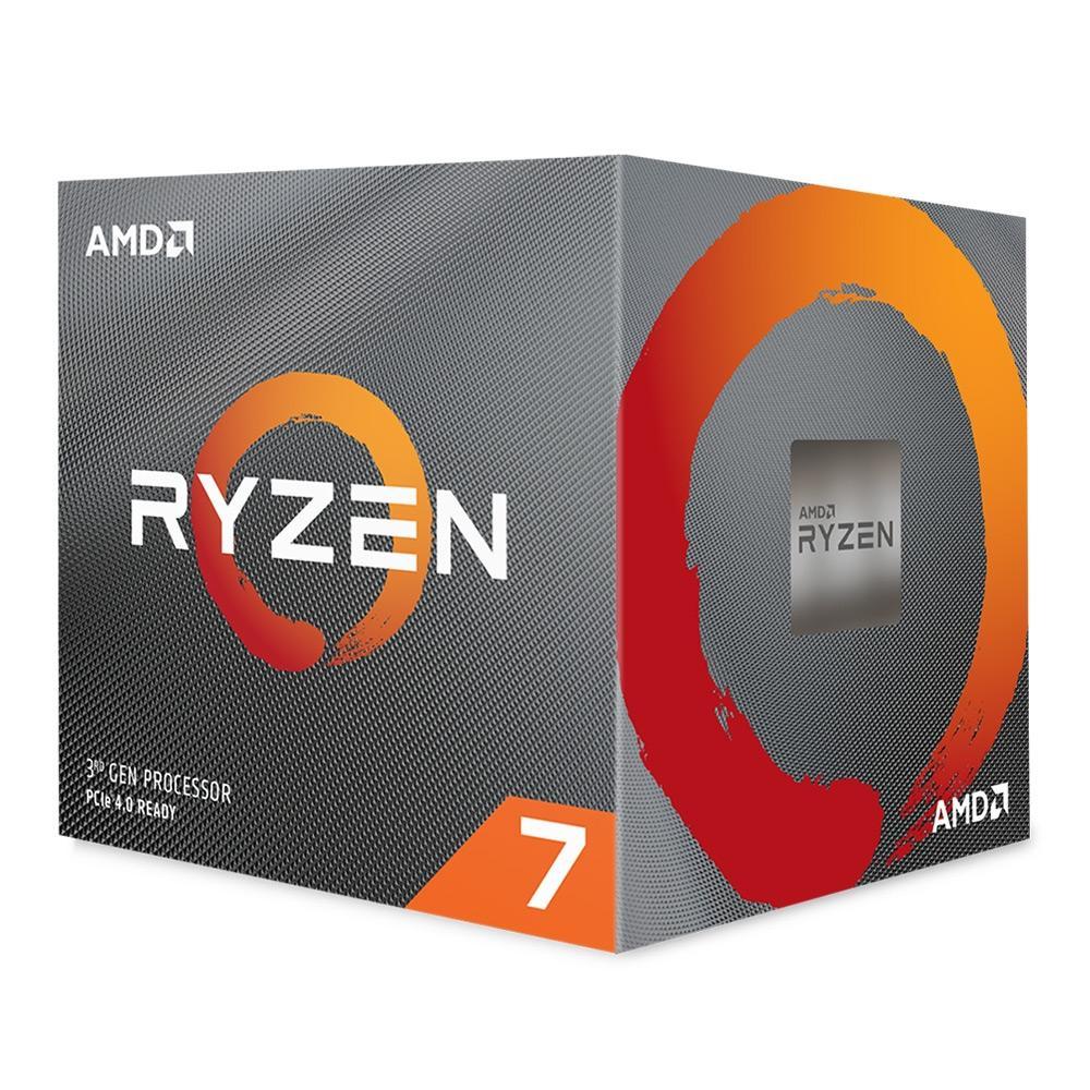 Processador AMD Ryzen 7 3800X Cache 32MB 3.9GHz (4.5GHz Max Turbo) AMD4 - 100-100000025BOX