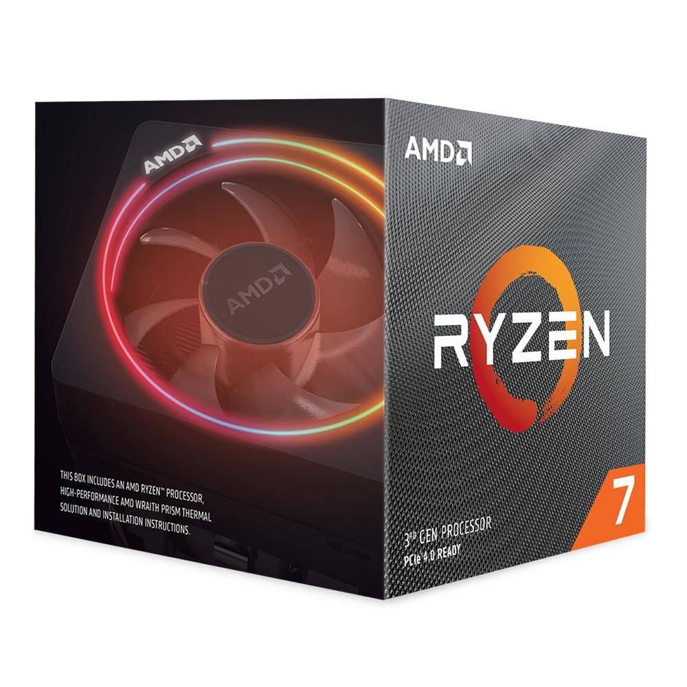 Processador AMD Ryzen 7 3800X Cache 32MB 3.9GHz (4.5GHz Max Turbo) AMD4, Sem Vídeo - 100-100000025BOX
