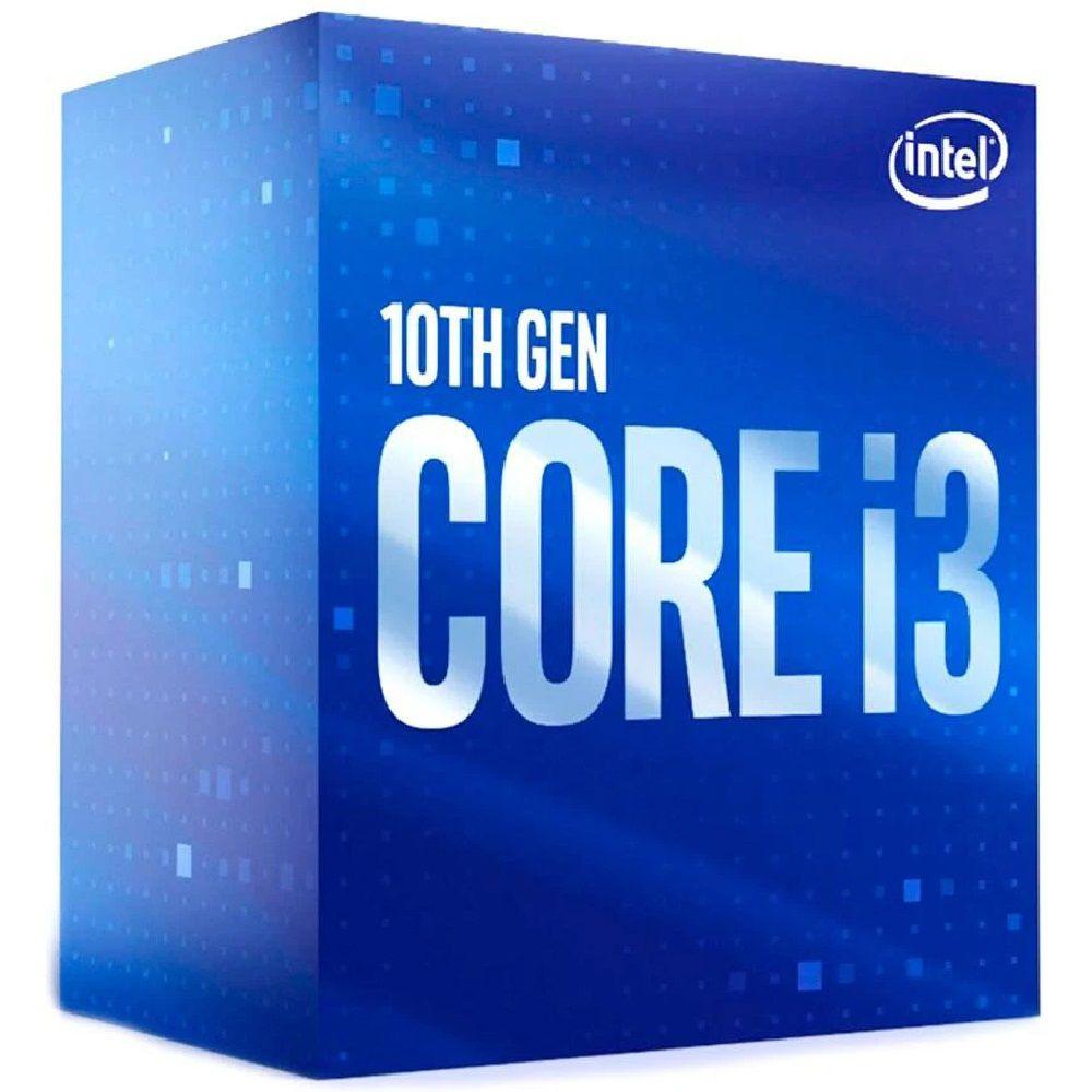 Processador Intel Core i3-10100, Cache 6MB, 3.6GHz, LGA 1200 - BX8070110100
