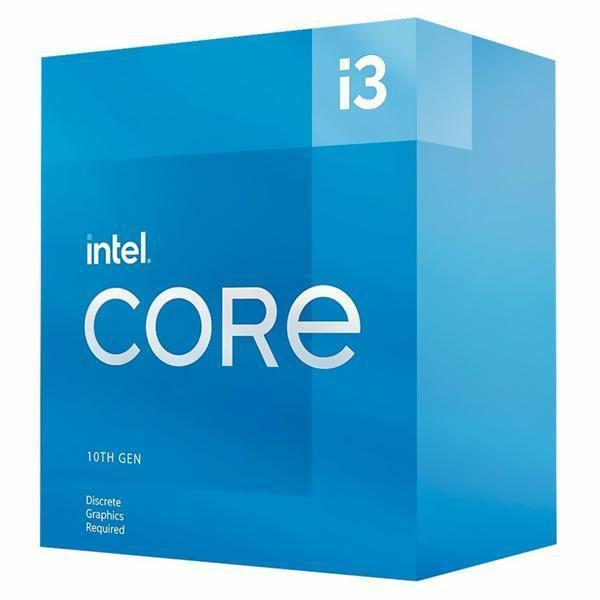 Processador Intel Core i3-10105F 3.7GHz (4.4GHz Turbo), 10ª Geração, 4-Cores 8-Threads, LGA 1200 - BX8070110105F