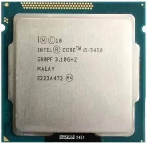 Processador Intel Core i5-3450 3a Geração, Cache 6MB, 3.10GHz (3.50GHz Max Turbo), 1155 - OEM