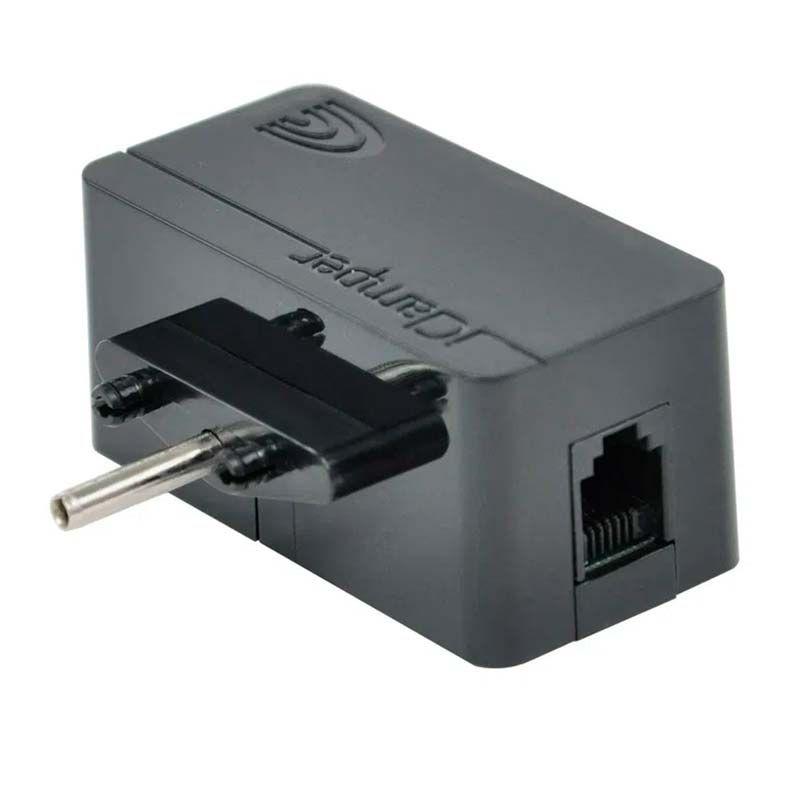 Protetor Eletrico DPS Clamper iClamper Tel + Cabo RJ11 Preto - 009906