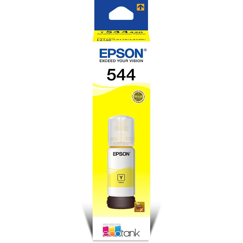 Refil de Tinta Epson 544, 65ml, Preto - T544120