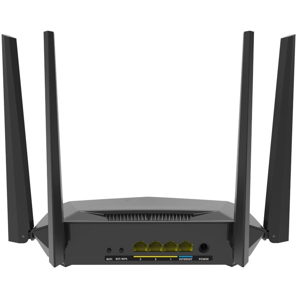 Roteador Wireless Intelbras ACtion RG 1200, Gigabit, Dual Band, 867Mbps, 4 Antenas - 4750074