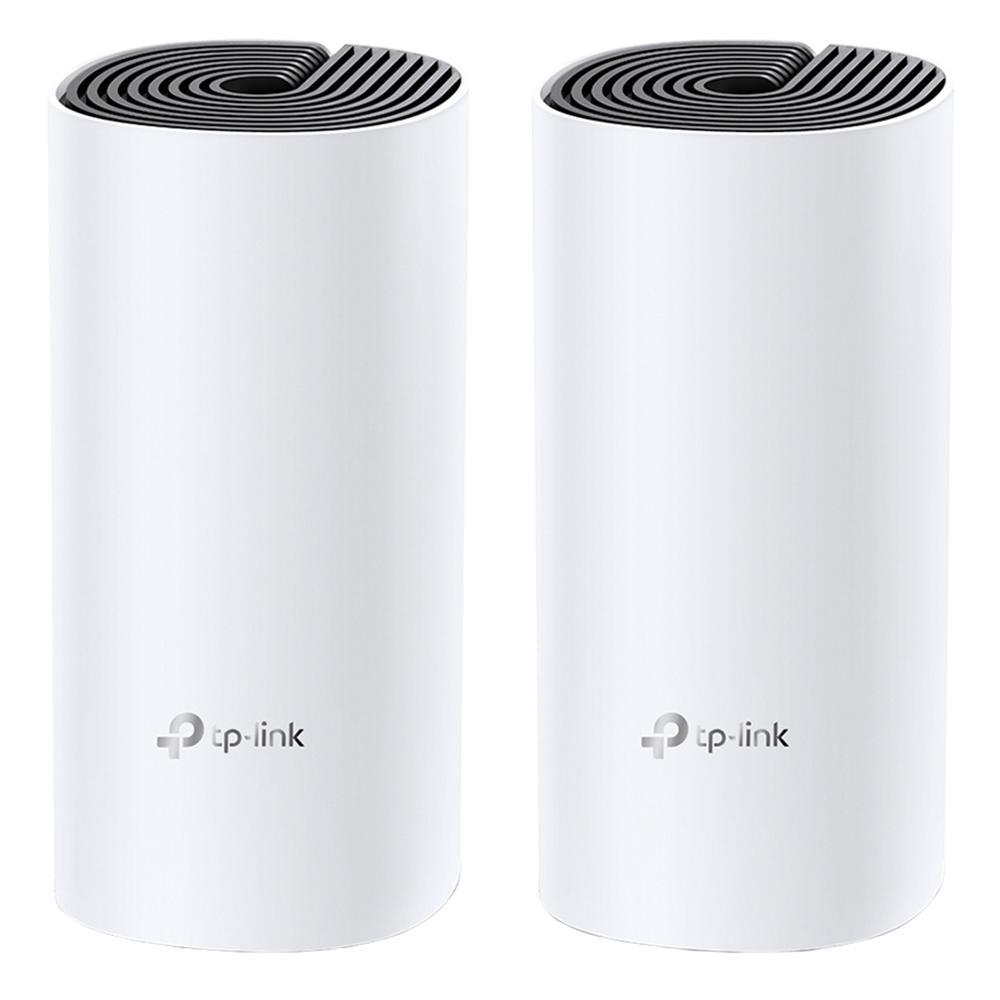 Roteador Wireless TP-Link Deco E4, AC1200, 1200 mbps, 2 pcs - Deco E4(2-pack)(US) Ver1.0