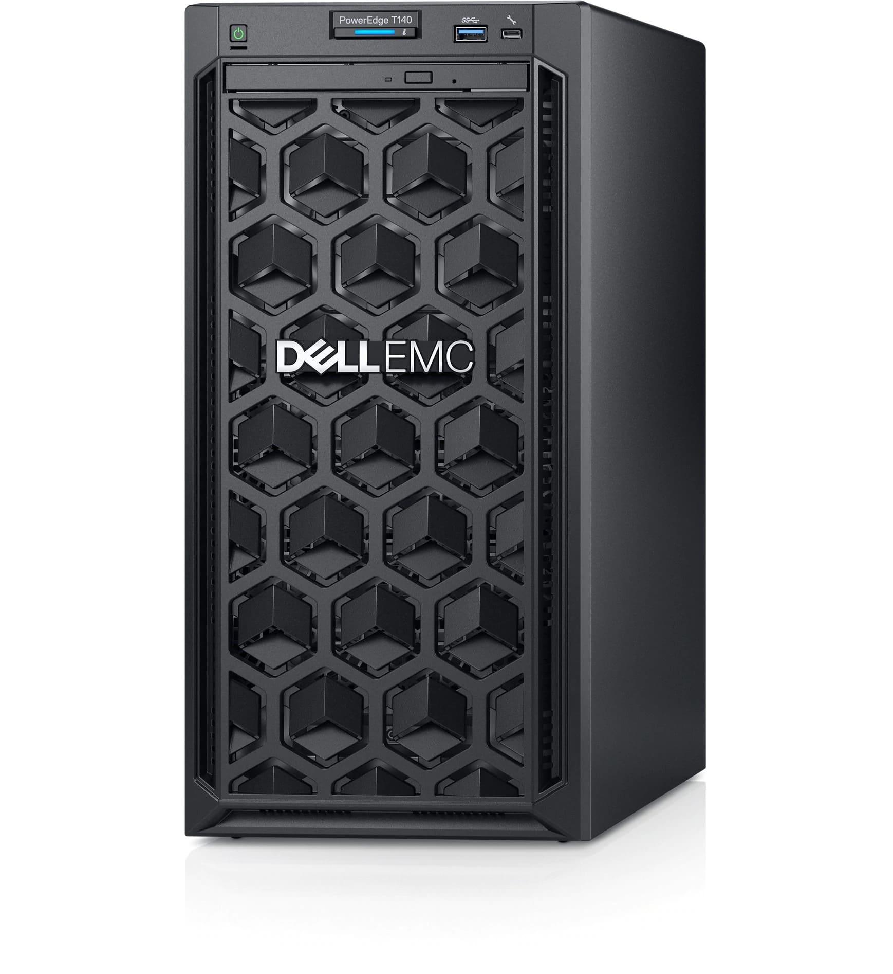 Servidor Dell PowerEdge T140, Intel Xeon E3-2224, 16GB RAM, 2x HD 1TB - 210-AQSS-BLJN