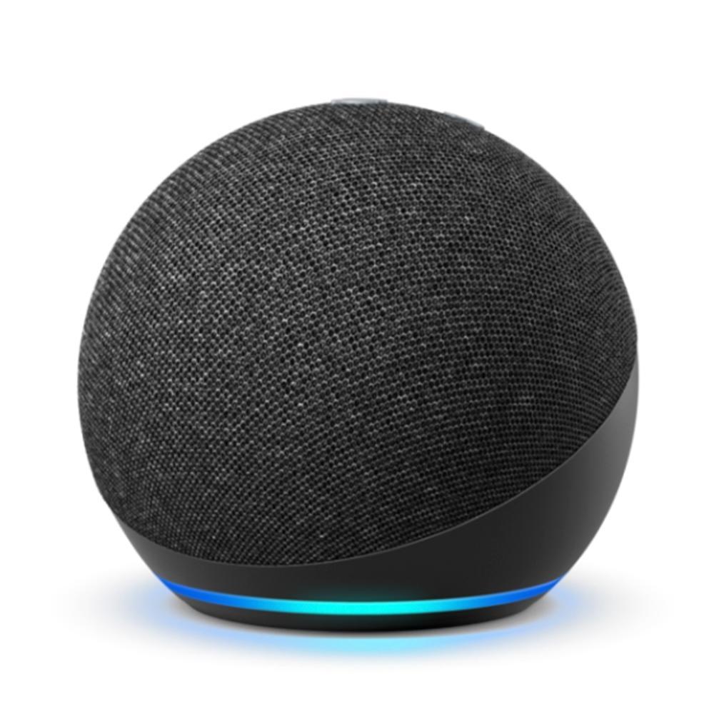Smart Home Echo Dot Amazon Alexa, 4 Geração, Preto - B084DWCZY6