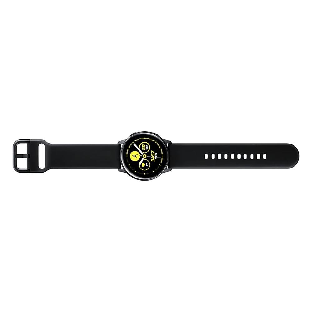 Smartwatch Samsung Galaxy Watch Active, Wi-Fi, Touchscreen, Monitor Cardíaco, Preto - SM-R500NZKPZTO