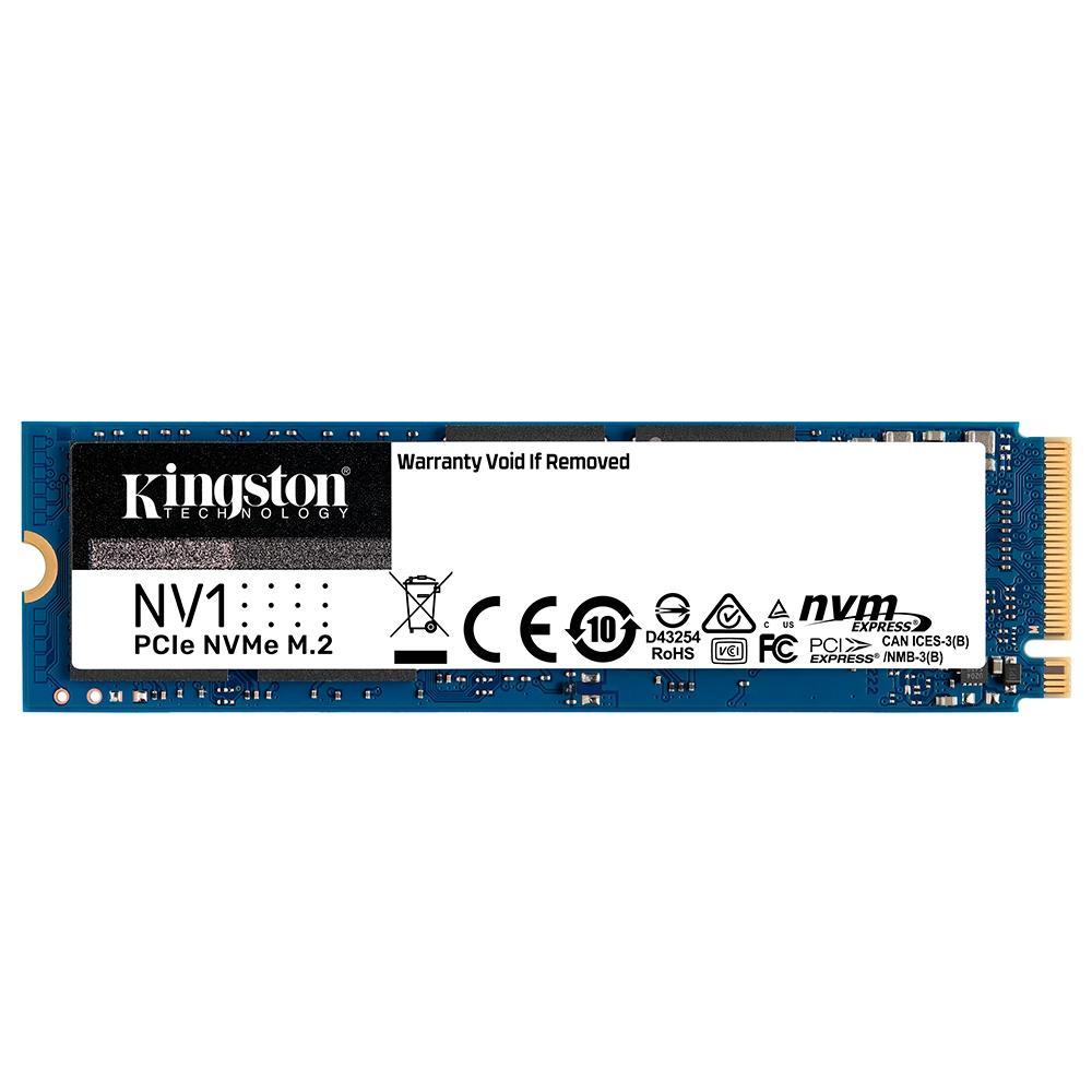 SSD Kingston NV1 2TB, M.2 2280 NVMe, Leitura: 2100MB/s e Gravação: 1700MB/s - SNVS/2000G