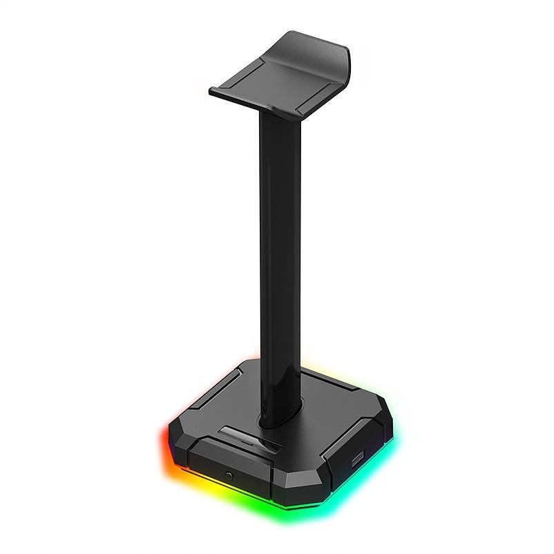 Suporte para Headset Redragon Scepter Pro RGB, Preto - HA300