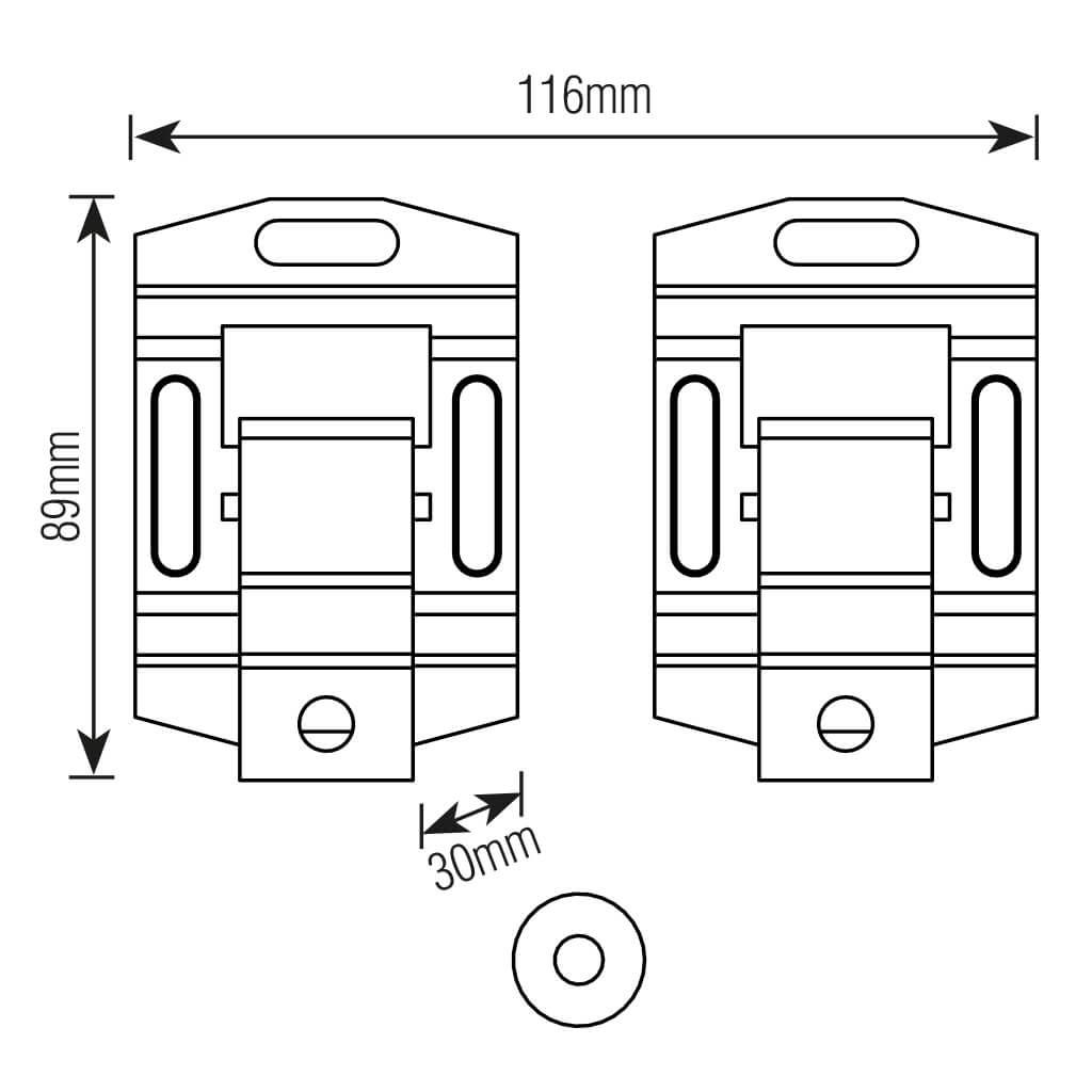 """Suporte Universal Brasforma Ultra Slim Para TV/Fixo, LCD, LED e Plasma 10"""" a 85"""" Preto - SBRU859"""